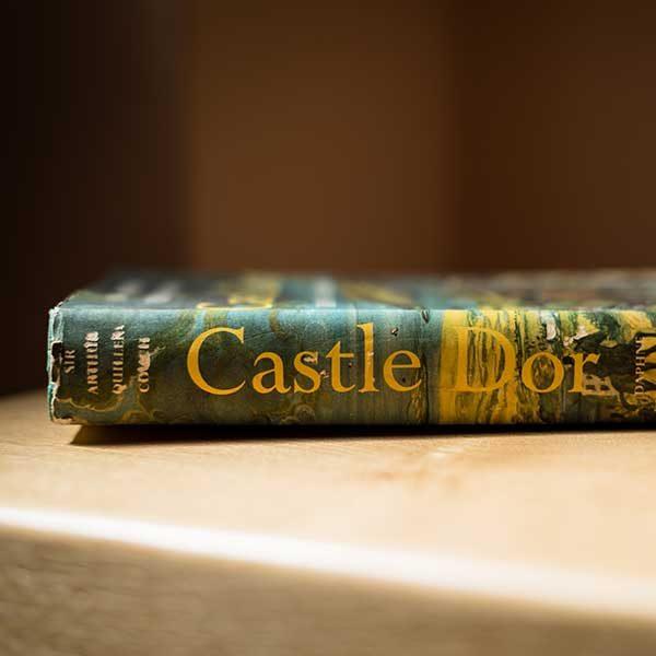 'Castle Dor' by Daphne Du Maurier first edition spine