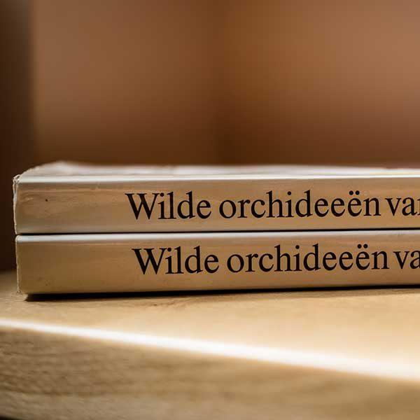 Wilde Orchideen van Europa by J.Landwehr spine