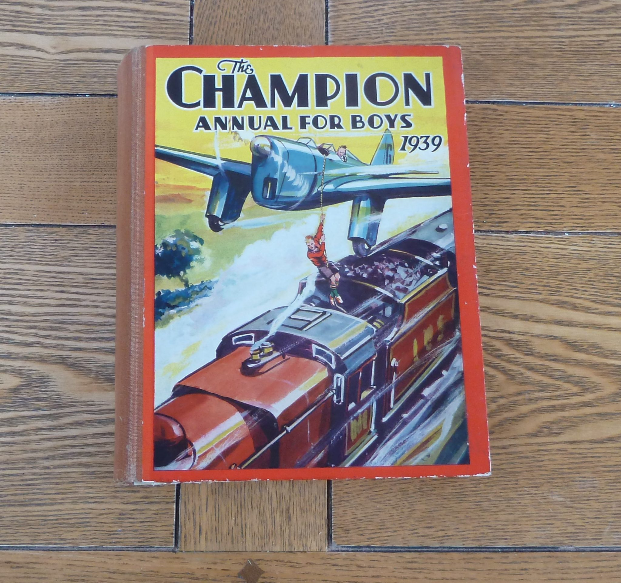 The Champion Annual For Boys 1939
