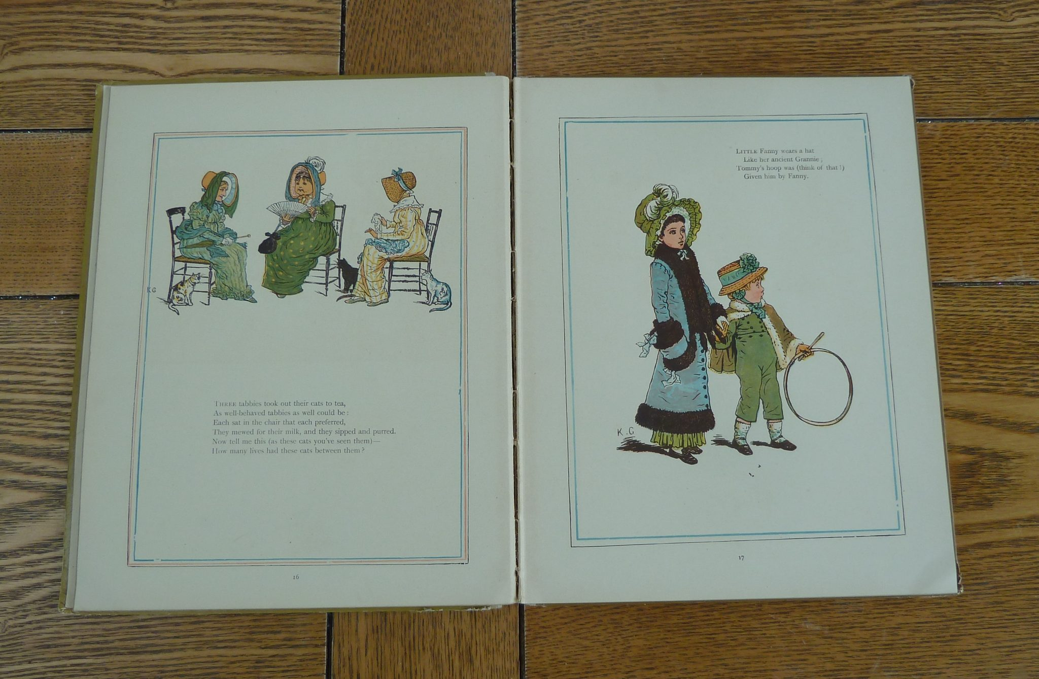 Kate Greenaway Inside