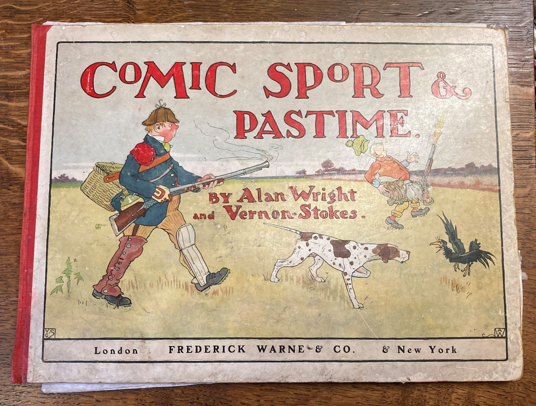 Comic Sport And Pastime