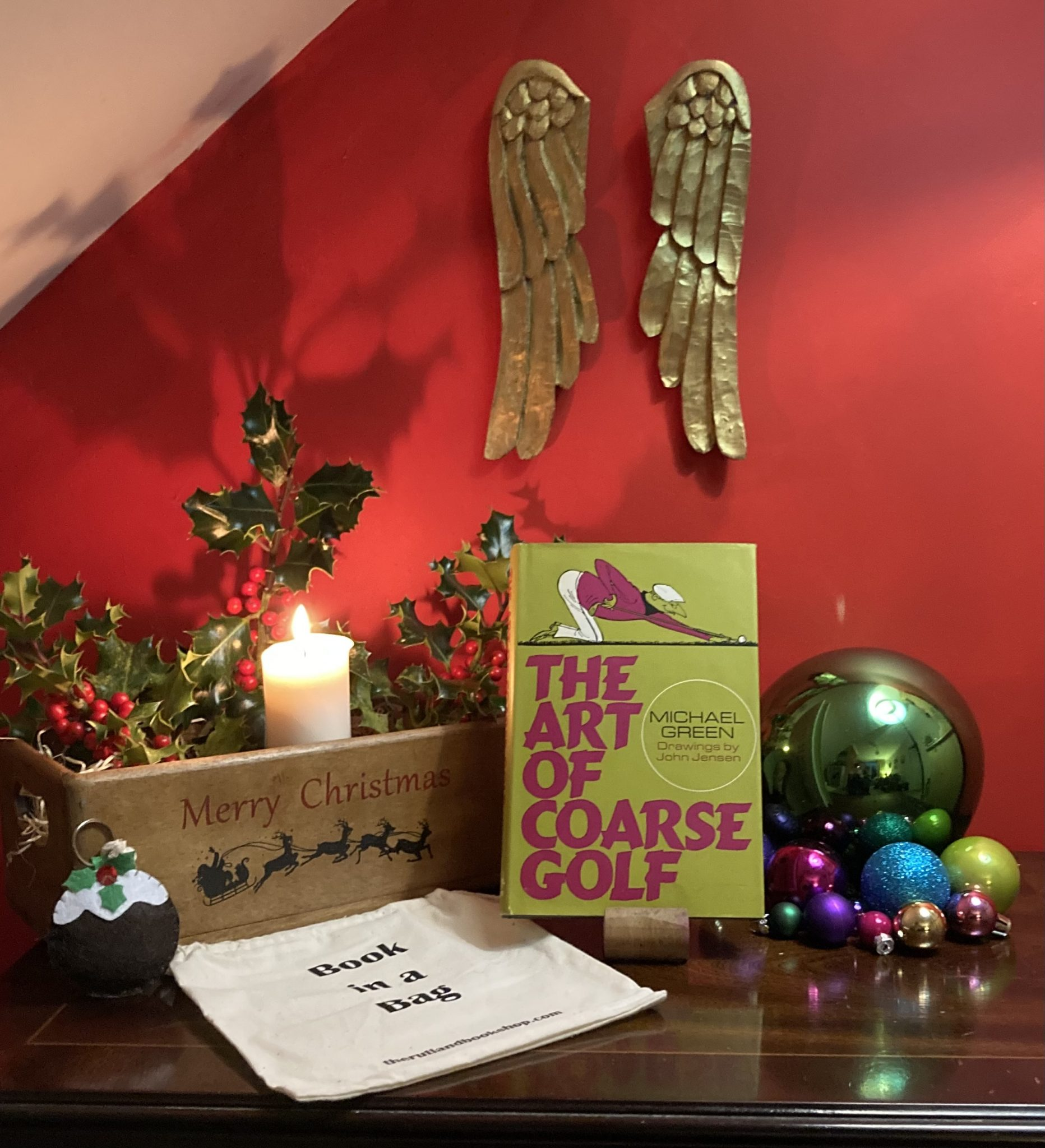 Christmas Book In A Bag: The Art Of Coarse Golf