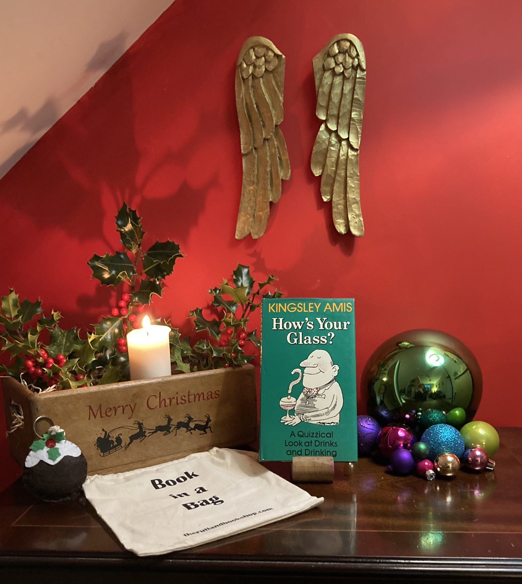 Christmas Book In A Bag: How's Your Glass?