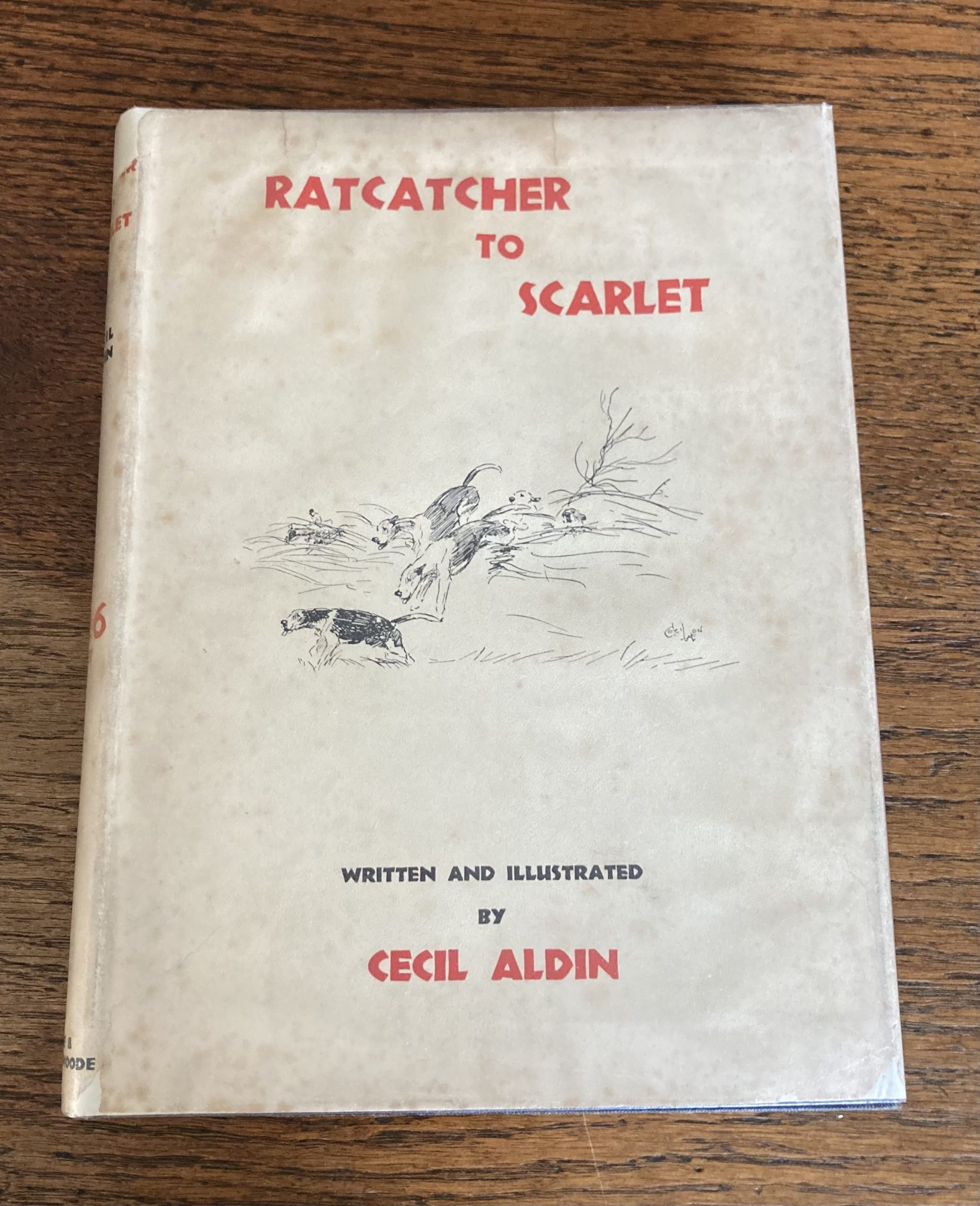Ratactcher To Scarlet By Cecil Aldin